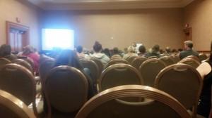 Sitting in on a Social Media class by Lynn Switanowski.